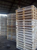 Pallets – Packaging - Euro pallet without stamp