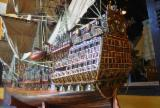 Woodturnings - Turned Wood - 3 metter ship model, Sovereign of the Seas