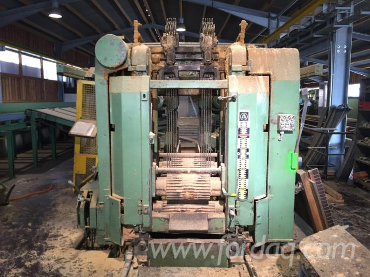 EWD / ESTERER High performance frame saw line, type HDS 700 SV