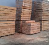 Hardwood  Sawn Timber - Lumber - Planed Timber Beech Europe - Beech (Europe) Railway Sleepers in Romania