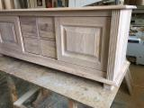 Country Bedroom Furniture for sale. Wholesale exporters - Four drawers and two sliding door wardrobe