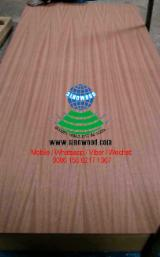 MDF - Sapelli veneered mdf board, fancy mdf, q/c(quarter cut)