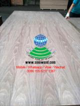 MDF - Natural walnut veneered mdf board, E2 Glue, C/C