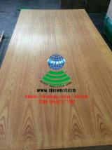 MDF - Natural yellow rosewood veneered mdf board, e2, c/c, 2.5-25mm