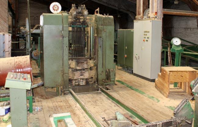 Used-HOCHLEISTUNGSGATTER-Mit-BV-HDN-600-SV-1982-Sawmill-For-Sale