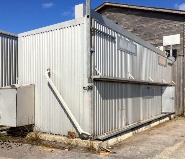 Vend container trockenkammer km q l st occasion autriche for Container bois occasion