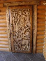 Doors, Windows, Stairs - Common Black Alder Doors from Romania