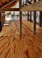Exterior Decking  - Oak (European), podele din fasii de stejar
