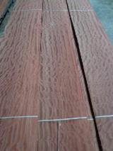 Bubinga  Quartered, Figured Natural Veneer Germany