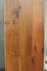 Engineered Wood Flooring - Multilayered Wood Flooring - Coffee brown color - French oak flooring