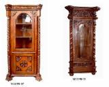 Kancelarijski Nameštaj I Nameštaj Za Domaće Kancelarije Indonezija - Display cabinet, Prava antika, 5 komada Spot - 1 put