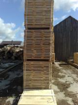 Sawn Timber - Pine elements for pallet/packages production - fresh cut or KD 18-20%