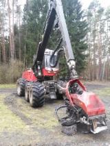 Harvester (Utilaj De Exploatare) Valmet / 8252 H 911.3 Folosit 2008 in Germania