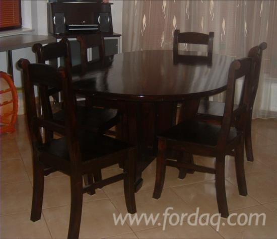 Vend Ensemble Table Et Chaises Pour Salle A Manger Design Feuillus