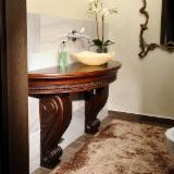 Mobiliario de baño - Venta Conjuntos De Baño Contemporáneo Madera Dura Europea Cerezo Negro Rumania