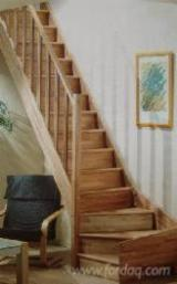 Hardwood (Temperate), Beech (Europe), Stairs