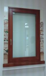 Fir Solid Wood Windows, 64 mm thick, Paint