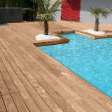 Terrassenholz Frankreich - Ipe , Rutschfester Belag (1 Seite)