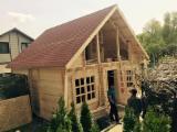 Wood Houses - Precut Framing Lumber - Spruce