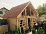 Wood Houses - Precut Timber Framing - Wooden Houses Spruce  Romania