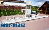 Gebraucht LIGNUMA 2009 Bandsäge Mit Rollentisch Und/oder Freilaufwagen Zu Verkaufen in Polen