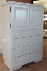 Dressers - Wardrobes Bedroom Furniture - Art & Crafts/Mission, Spruce (Picea abies) - Whitewood, Dressers - Wardrobes, 100 pieces per month