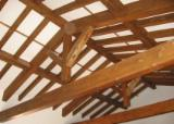Wood Houses - Precut Timber Framing - Internal Wooden Roof