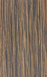 Ebony (Ebène), Flat cut, plain, Engineered Veneer