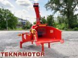 Forstmaschinen Trommelhacker - Holzhacker Skorpion 250 R - Teknamotor