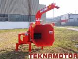 Machine À Faire Des Plaquettes De Bois - Déchiqueteuse Skorpion 250 R - Teknamotor