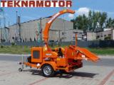 Forstmaschinen Trommelhacker - Holzhacker Skorpion 280 SDB - Teknamotor
