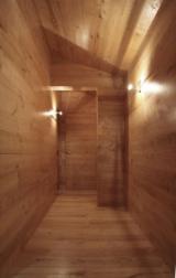 Trgovina Na Veliko Drvenih Nosači - Drvenih Zidni Paneli I Profili - Puno Drvo, Kesten, Profilisane Vertikale