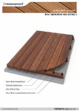 SPECIAL OFFER.THERMOWOOD ASH DECKING.