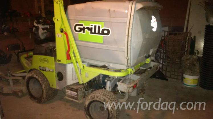 Used-2007-GRILLO-TRACTEUR-TONDEUSE-in