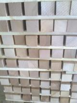 Wood Components - Cherry Wood Furniture Components, PEFC/FFC, KD, 50 x 50 x 500 mm