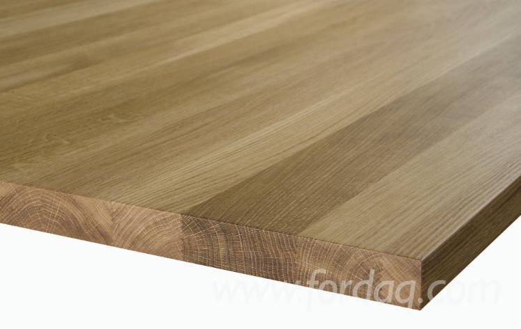 Oak panels matched for color/texture - Oak Finger Jointed Panels
