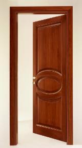 Holzkomponenten, Hobelware, Türen & Fenster, Häuser - Nordamerikanisches Laubholz, Türen, Massivholz, Tulpenbaum, Farbe