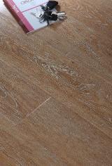 Engineered Wood Flooring - Multilayered Wood Flooring Oak European - White Brushed Oak Engineered Wood Flooring (Multilayer)