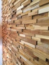 Massivholzplatten Indonesien - 1 Schicht Massivholzplatten, Teak