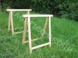 Fordaq wood market - Wooden trestles