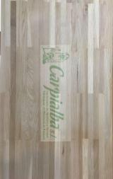 Oak (European), 14,18,22,27,32,40,50 mm, lamina continua fingerjoint, Hardwood (Temperate)