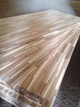 Acacia wood finger joint board, acacia wood, wood staircase