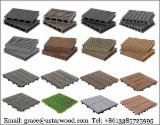 China Exterior Decking - Composite DIY Tile, WPC DIY garden Tile, OBI supplier