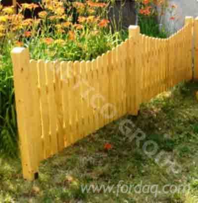 Cloture en bois modele eugen - Modele de cloture ...