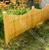 Wooden fence Model Eugen