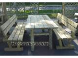 Pine  - Redwood Garden Furniture - Garden furniture L200