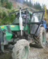 Slovakia Forest & Harvesting Equipment - Used Deutz Fahr 1983 Forest Tractor in Slovakia