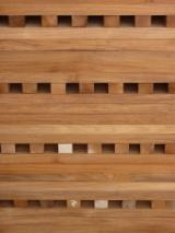 Solid Wood Components - Teak, African tropical species, Wood components