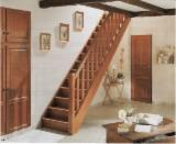 Stairs Finished Products - Oak (European) Stairs in Romania