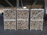 Romania Supplies - Kiln dried Beech Firewood ; 1 / 1.7 / 2 Cubic Metres Crates (Pallets)